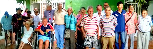 Jorge Acevedo Alcalde y García-Herreros Gobernador reciben apoyo de la tercera edad en Cúcuta « ☼ CúcutaNOTICIAS