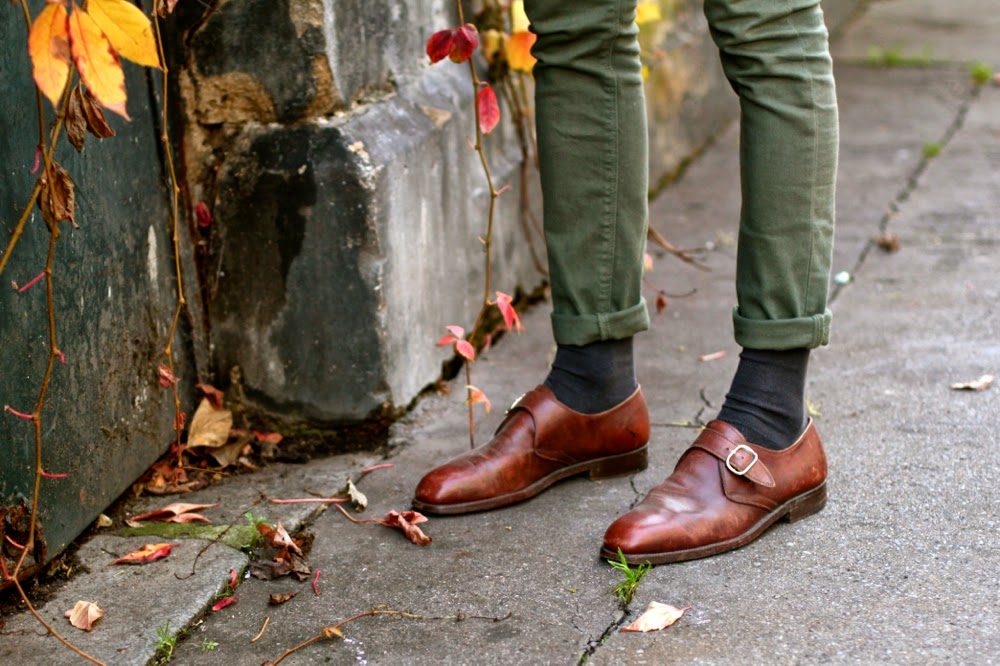 Chaussures à boucle Céline - leather buckled shoes BLog mode homme mensfashion