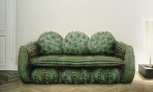 sofas extraños