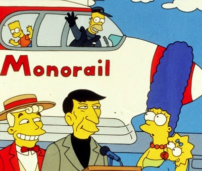 """""""Marge Contra el Monorriel"""