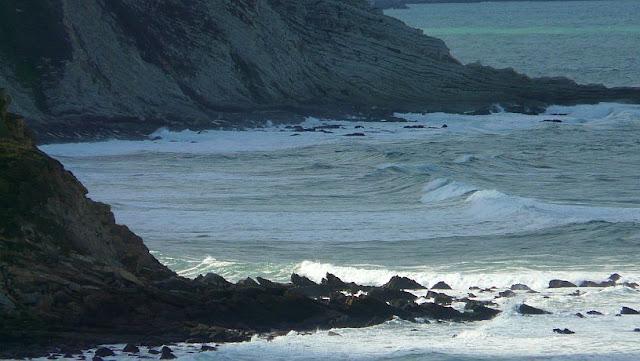 Condiciones del mar el día 6 de noviembre del 2012 en Sopelana -Bizkaia