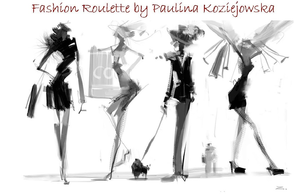 Fashion Roulette by Paulina Koziejowska