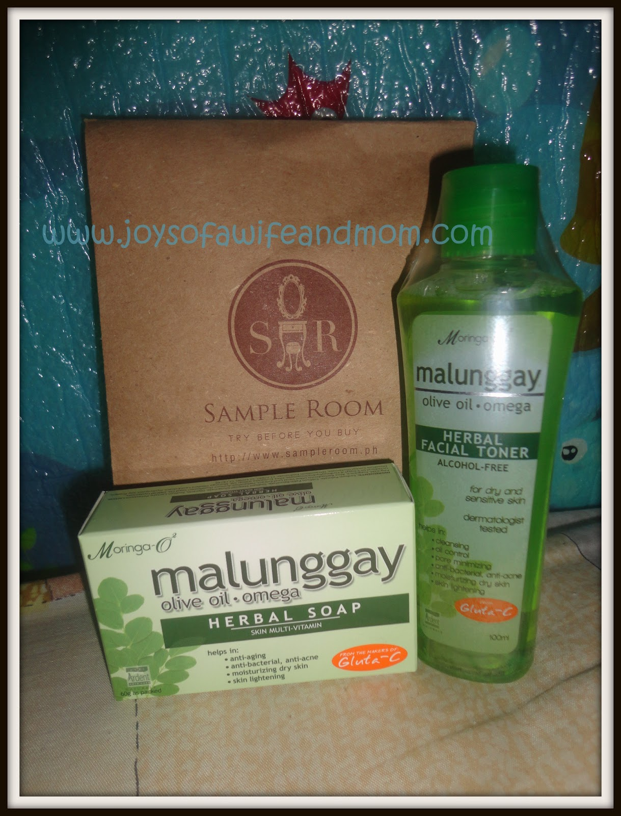 Sample Room: Malunggay Herbal Products