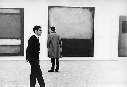 My Blind Date with Mark Rothko