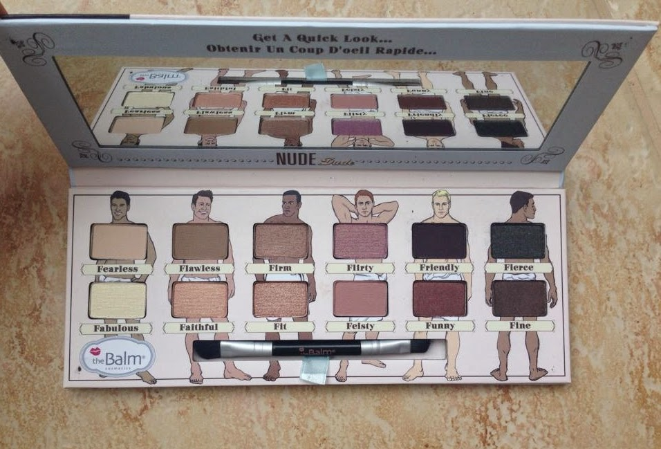 the balm nude dude swatches