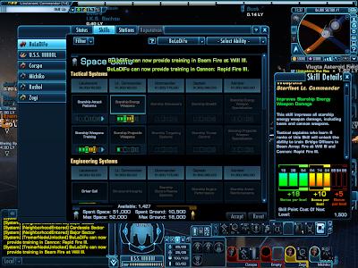 Star Trek Online - Character Skills