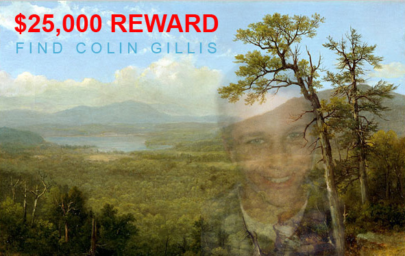 25,000 QUESTION: Where is Colin Gillis?