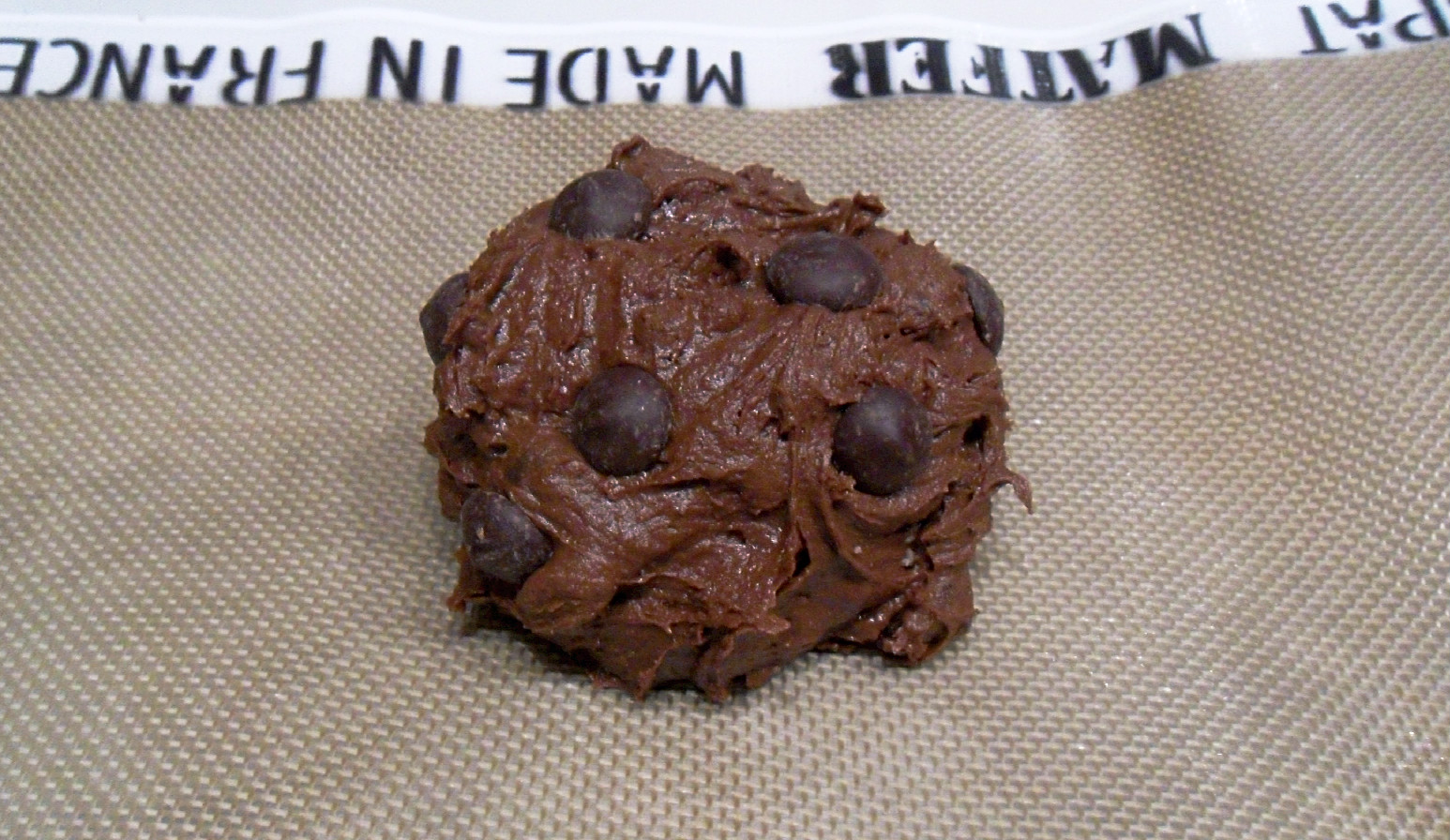 chocolates dont melt in my dough how to fix