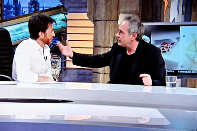 Ferran Adriá y Pablo Motos. Blog Esteban Capdevila