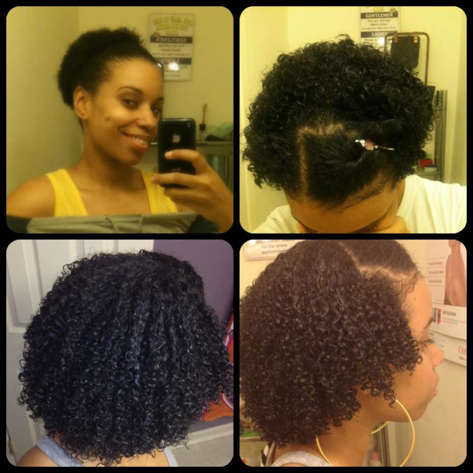 My 7 months hair growth progress report! From my TWA to NOW! (PIC ...