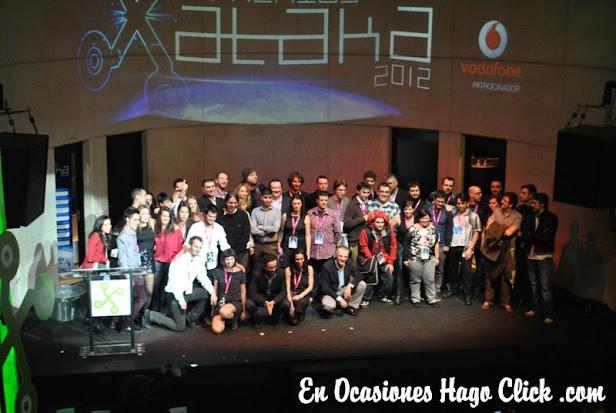 fotos premios xataka 2012 weblogs sl