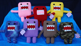 Handmade Domo by Leanne Rodriguez of Lilac's Lovables