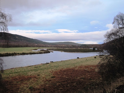 Deeside and Cambus o'May from the path around Ballater