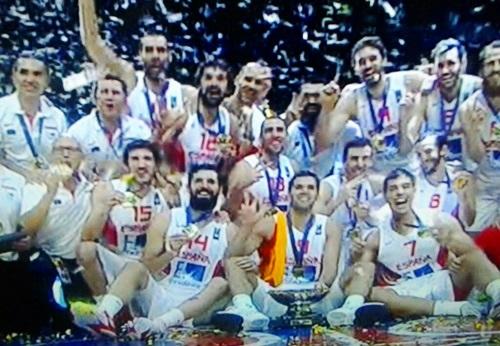 Triunfo de España en el Eurobasket