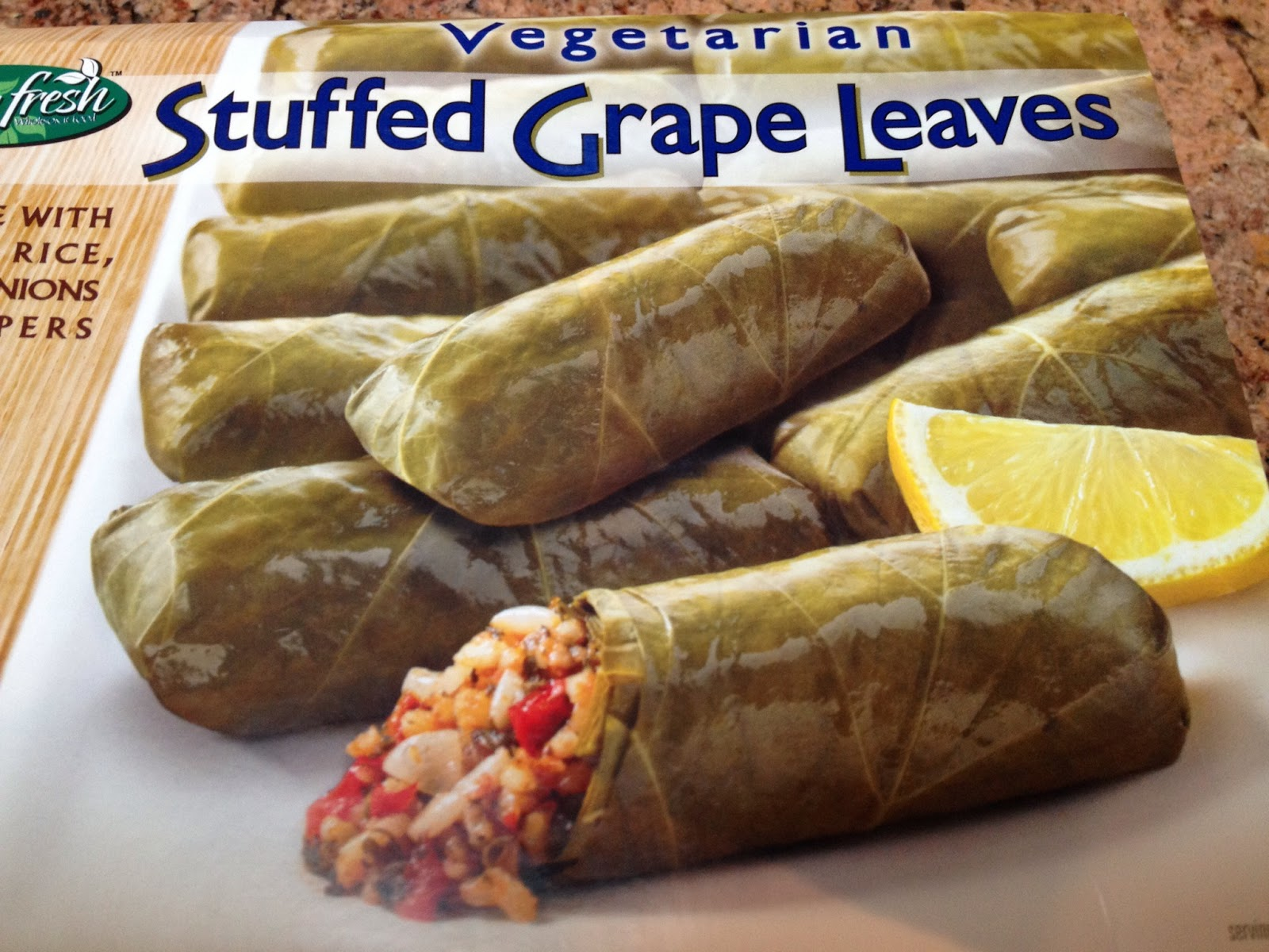 Whole Foods Stuffed Grape Leaves