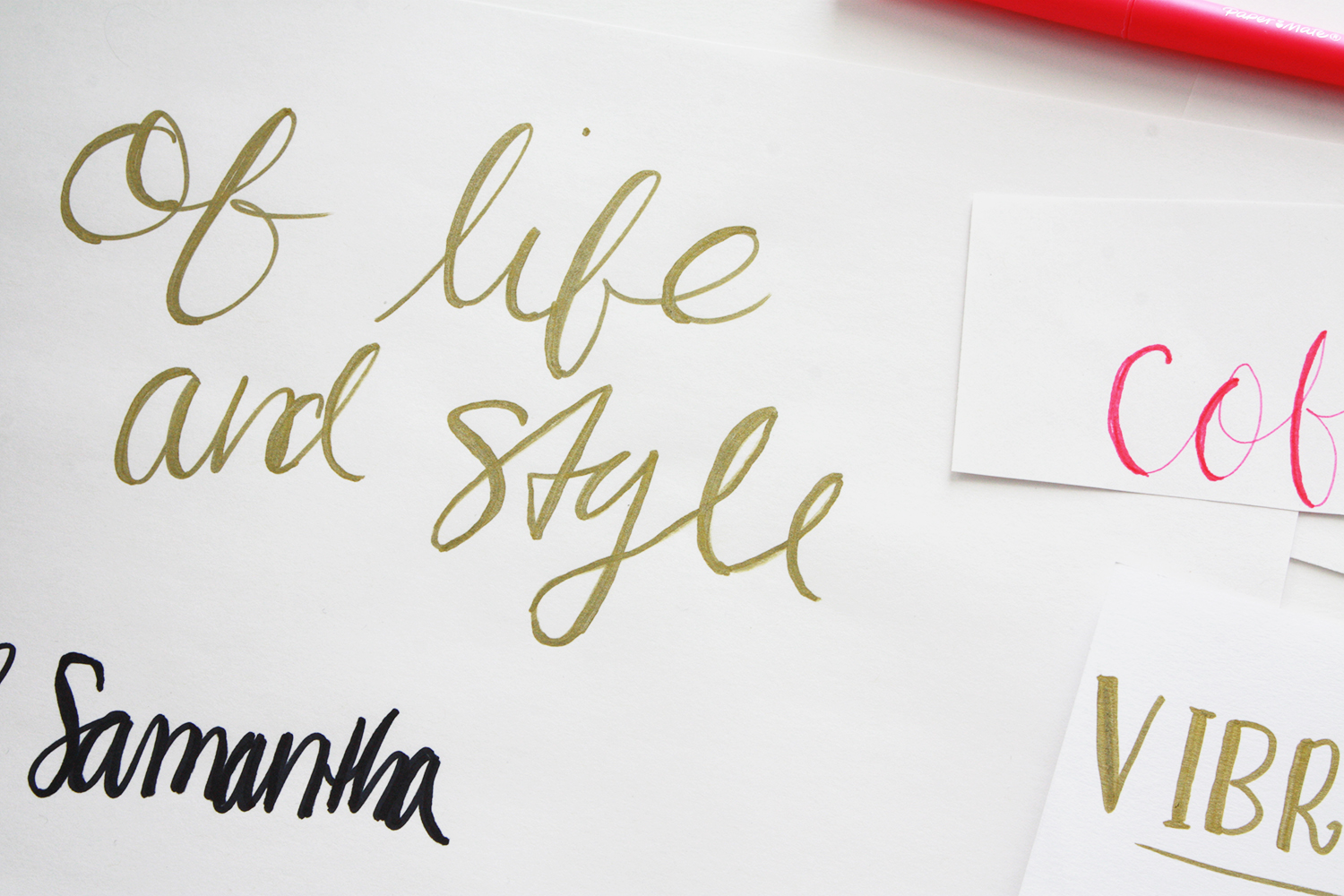Write Calligraphy Letters Images