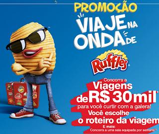 PROMOÇÃO VIAJE NA ONDA DE RUFFLES 2012 CADASTRO