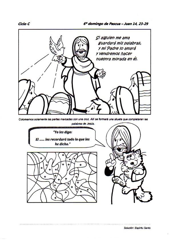 Recursos catequéticos para el VI Domingo de Pascua ~ Catequesis de ...