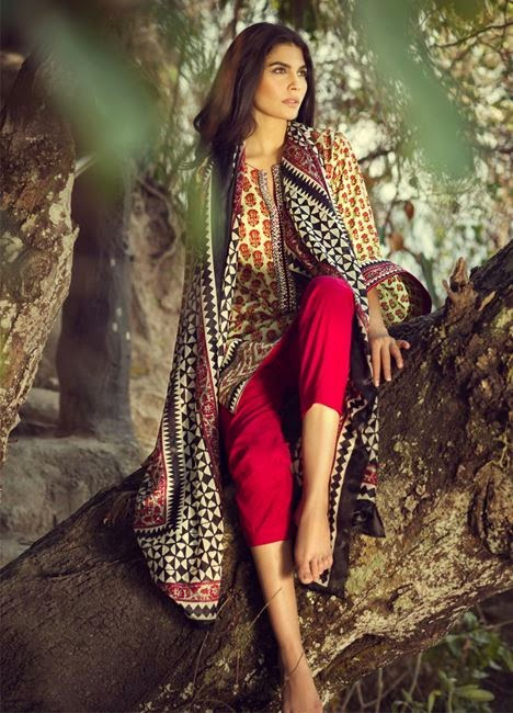 Sana safinaz lawn collection 2015