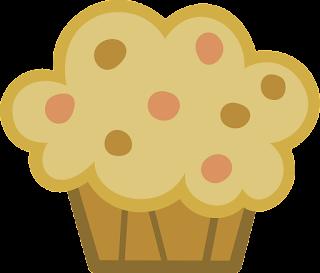 Muffin muy grande para imprimir