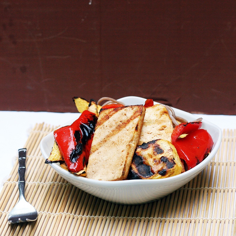 Grilled Tofu and Vegetables with Soba Noodles – The Smart Cookie