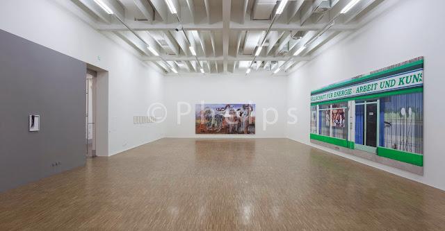 Ausstellung Maja Vukoje - Salzburg Kunstverein - Foto Andrew Phelps