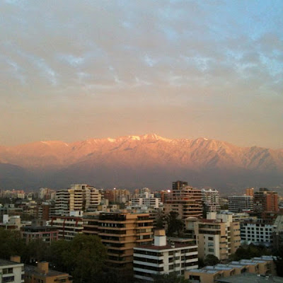 iPhoneography: October 5 2012 Selection, pablolarah,Pablo Lara H, santiago de chile, sunset