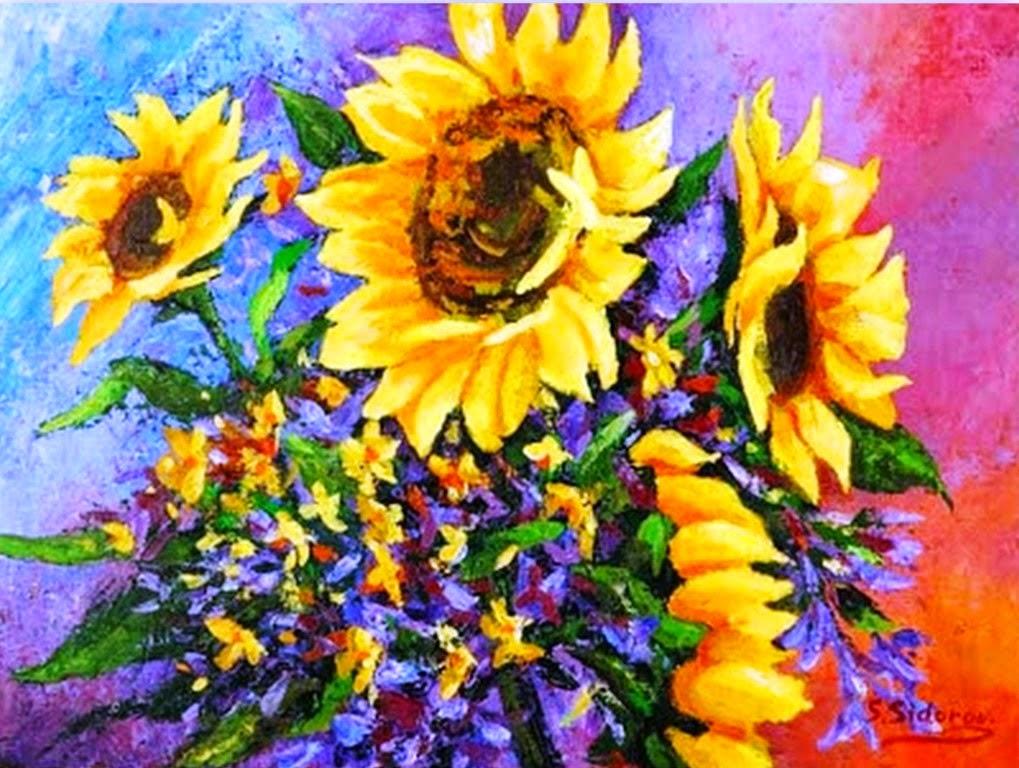 pintura-moderna-de-bodegones-y-paisajes
