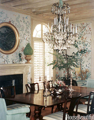 thanksgiving series the chinoiserie dining room