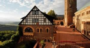 Castelo de Wartburg - Eisenach, Thuringia, Alemanha
