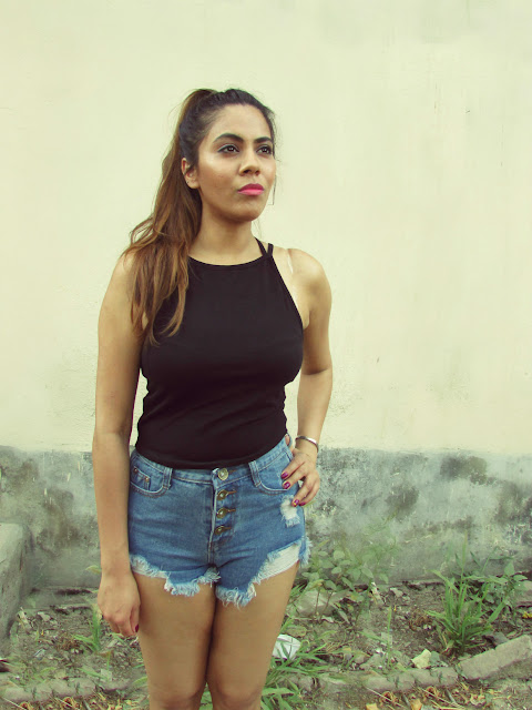 fashion, lackingone, summer fashion trends 2015, ripped denim shorts, how to style ripped denim shorts, comfy summer outfit, indian fashion blog, black crop top, cheap denim shorts online, how to style crop top,beauty , fashion,beauty and fashion,beauty blog, fashion blog , indian beauty blog,indian fashion blog, beauty and fashion blog, indian beauty and fashion blog, indian bloggers, indian beauty bloggers, indian fashion bloggers,indian bloggers online, top 10 indian bloggers, top indian bloggers,top 10 fashion bloggers, indian bloggers on blogspot,home remedies, how to
