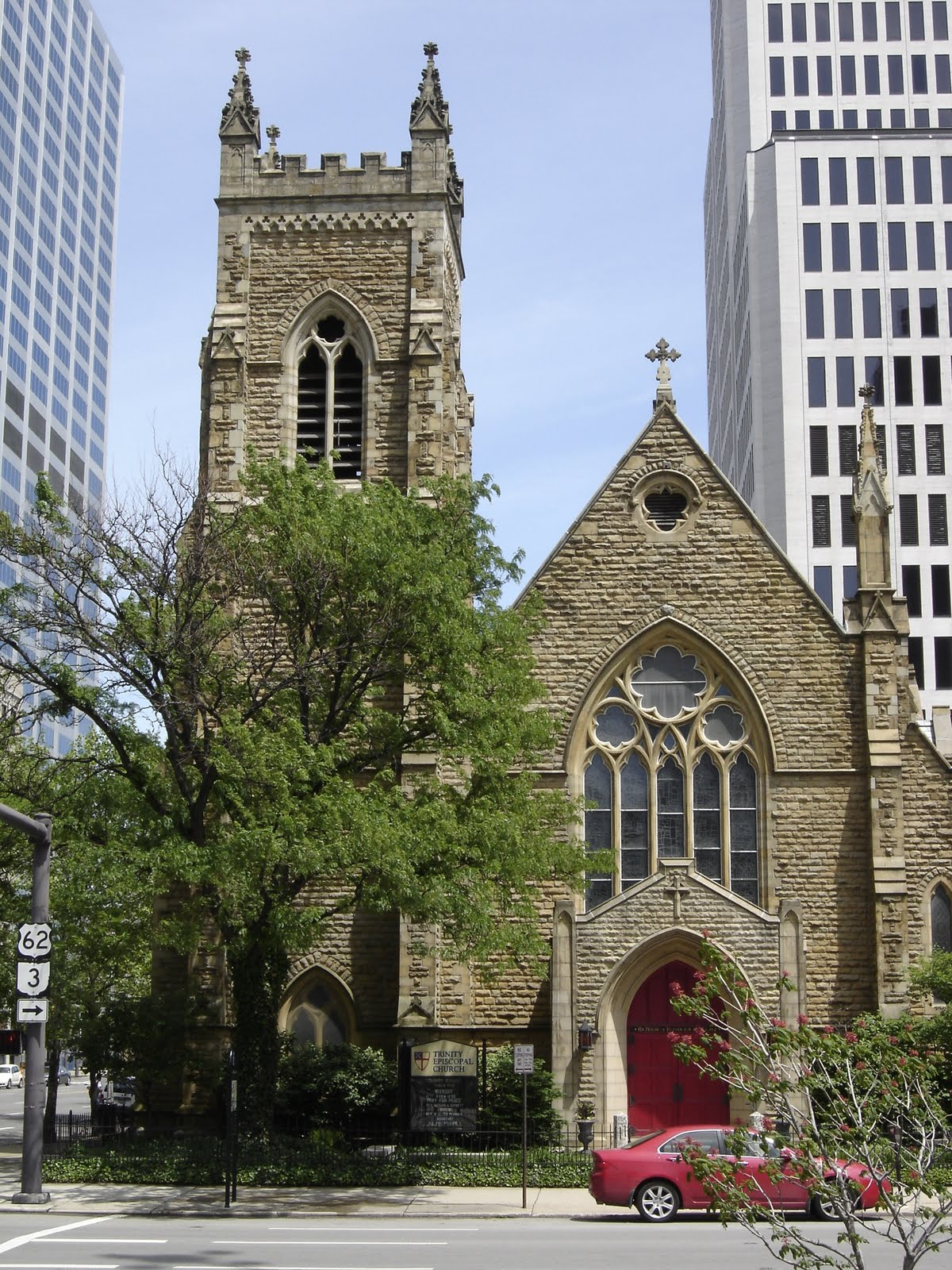 Places To Go Buildings To See Trinity Episcopal Church Columbus