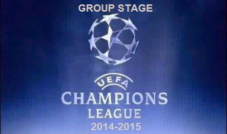 Jadwal Lengkap Liga Champions 2014-2015 Babak Penyisihan Group