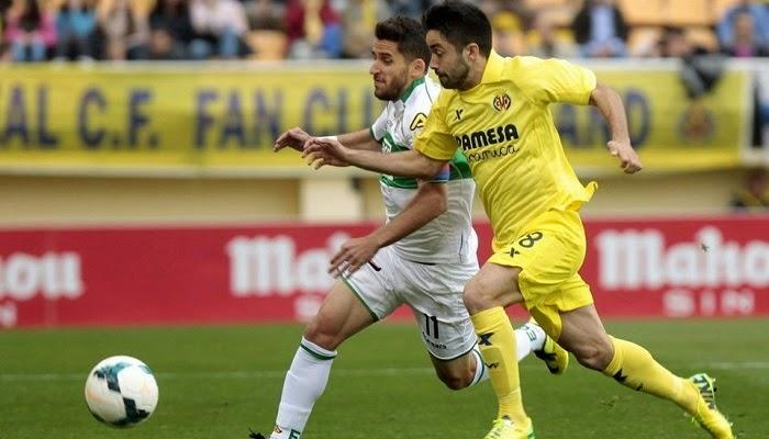 Elche vs Villarreal en vivo