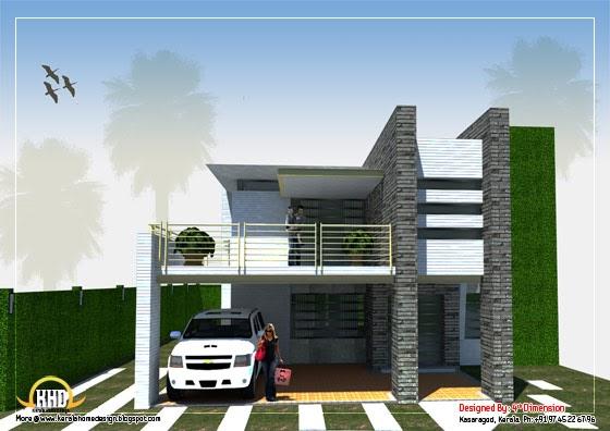modern home design 3120 sq ft indian home decor