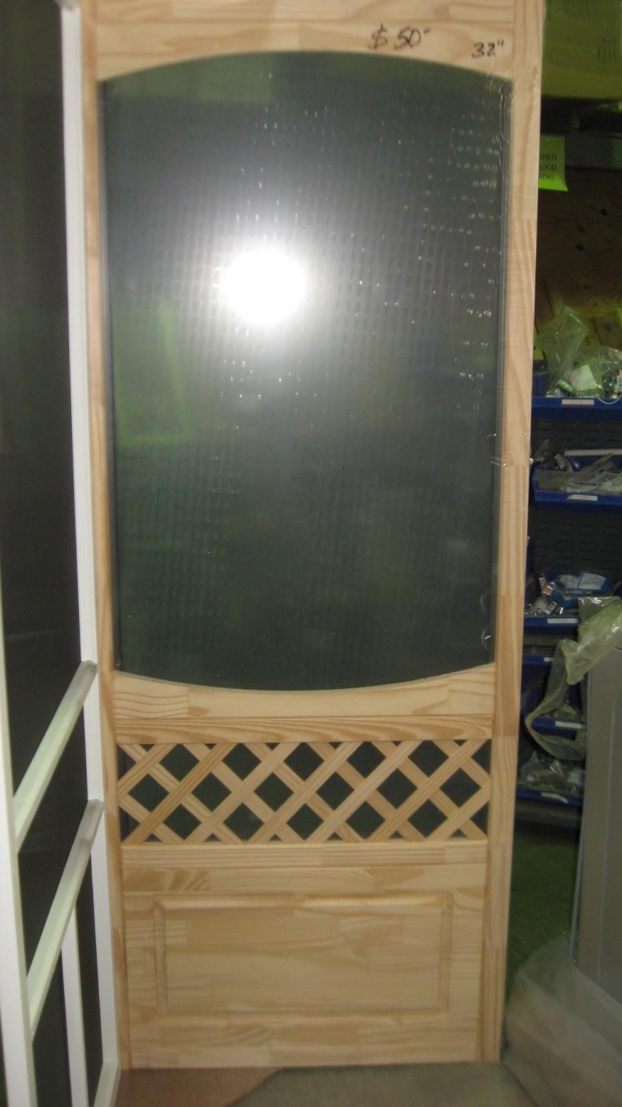 Wood Screen Enclosures : Blue ridge surplus wooden screen doors