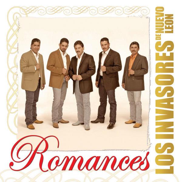 Los Invasores De Nuevo Leon - Romances CD Album 2013