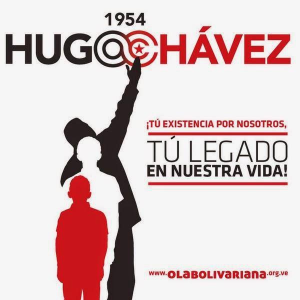 #Chavezviviraseternamenteenelpueblo