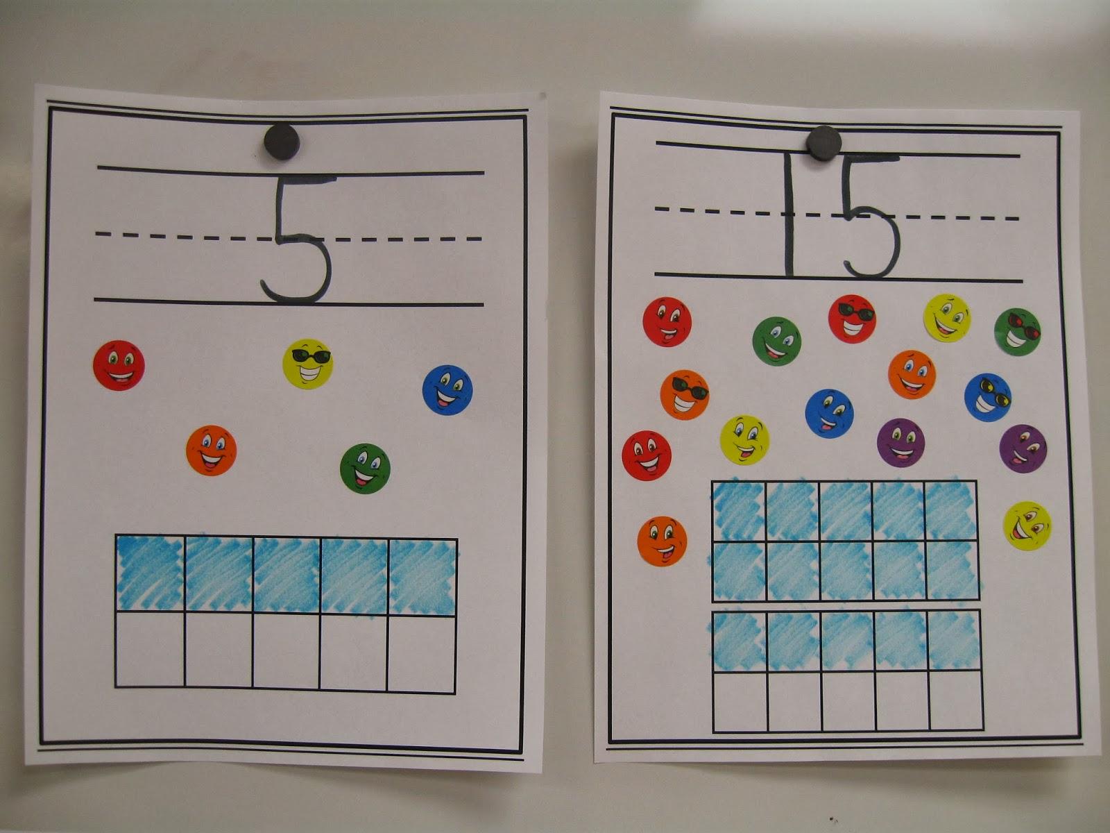 Crayons & Cuties In Kindergarten: Ditch the Store-Bought Number Line ...