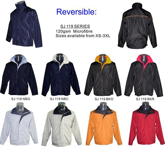 CENTRUM LINK - REVERSIBLE JACKETS / WIND BREAKERS