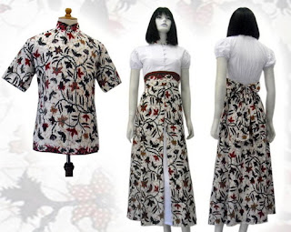 PO %2BA13 MODEL BAJU BATIK WANITA MODERN