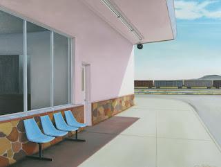 Espacios para el Descanso Pintura Hiperrealista
