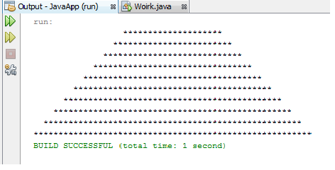 Print Diamond in Java