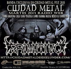 Entrevista en Ciudad Metal