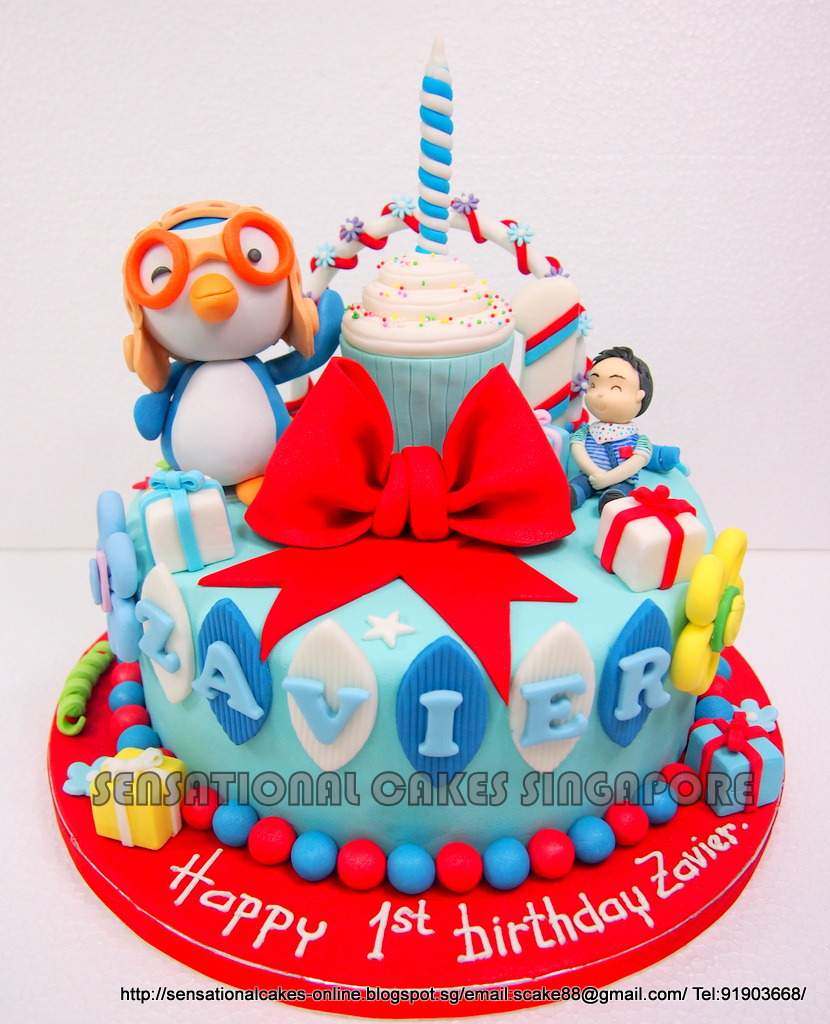 The Sensational Cakes: PORORO CAKE SINGAPORE / 1
