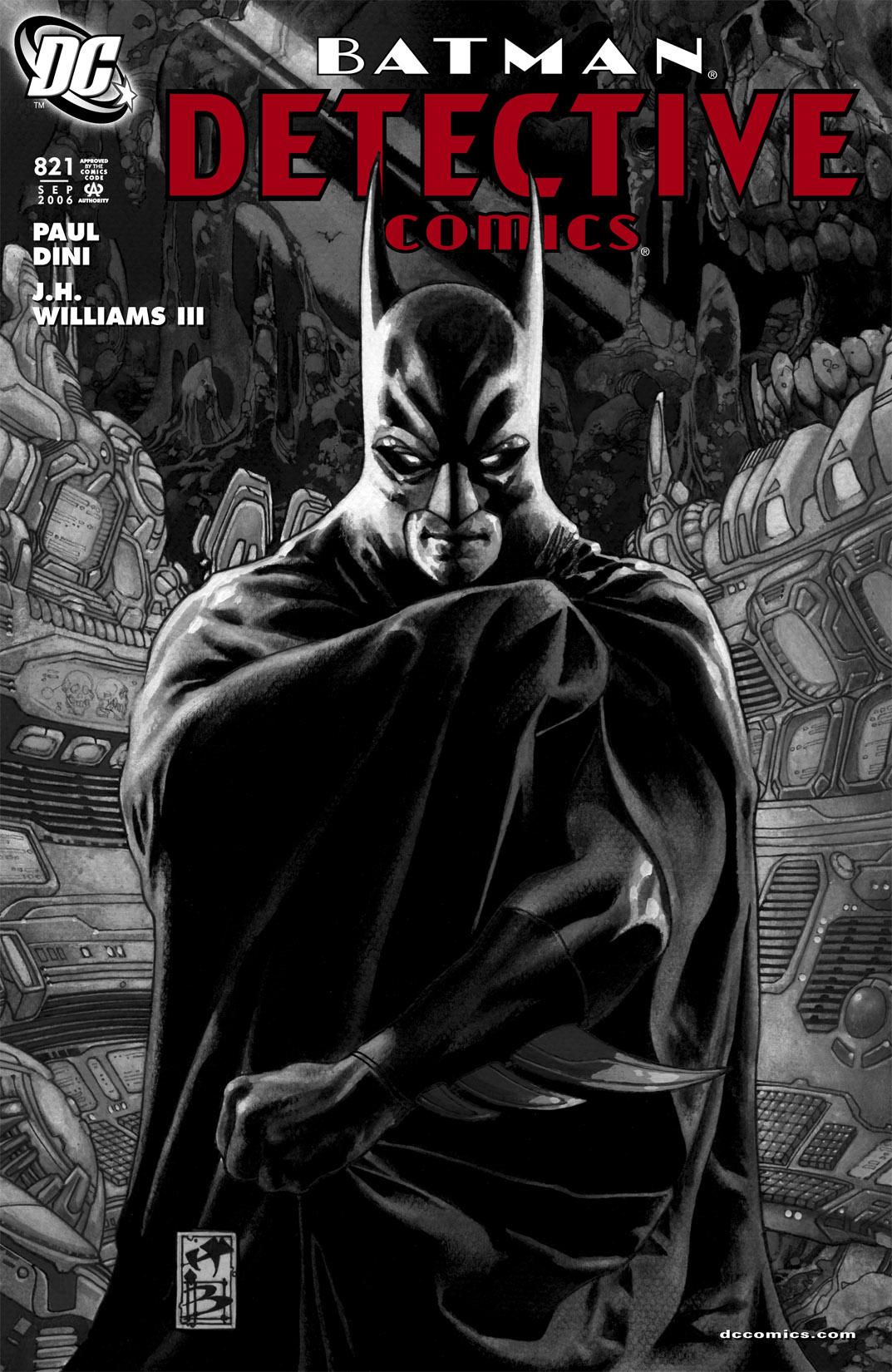 Detective Comics (1937) 821 Page 1