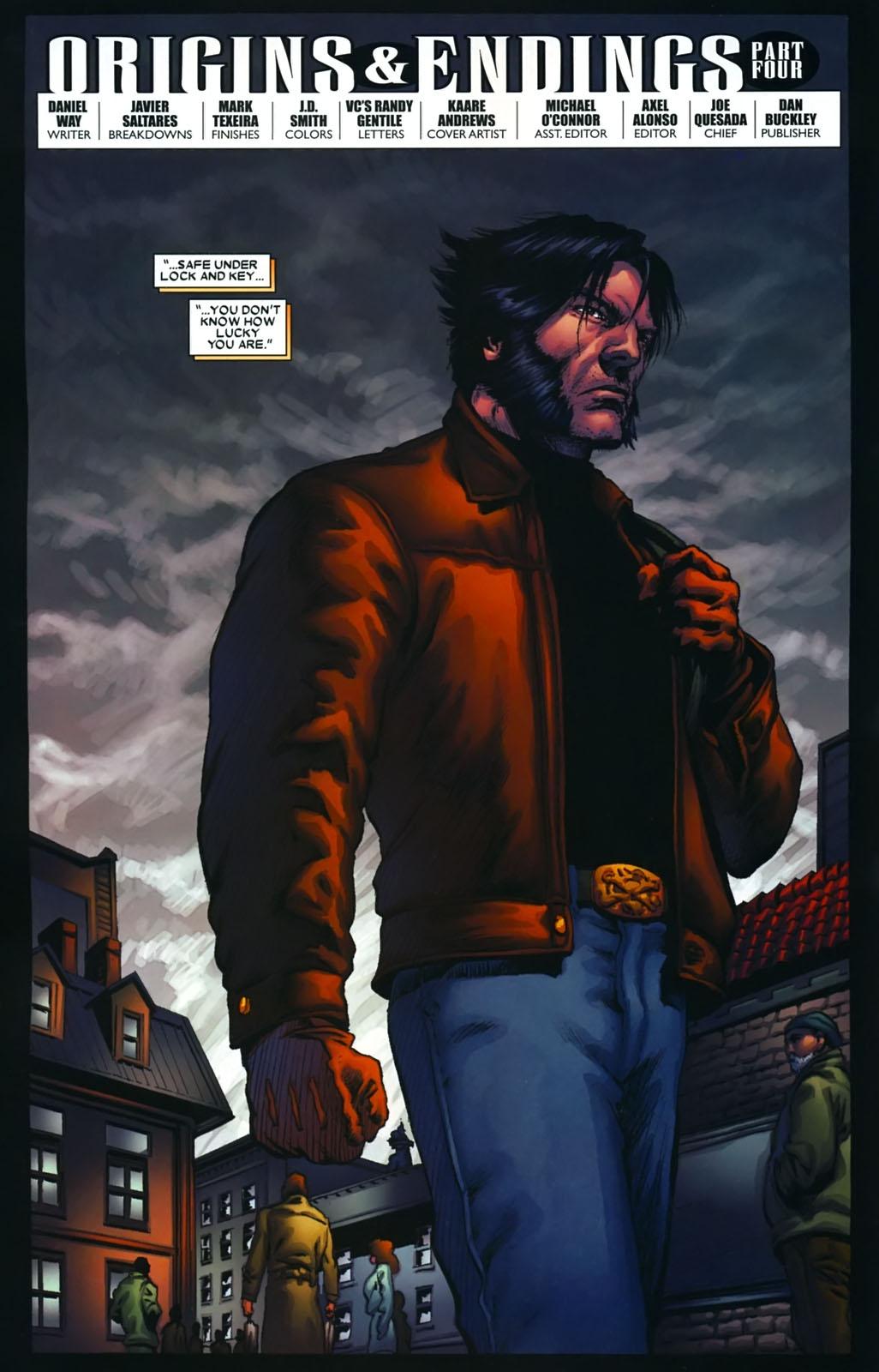 Read online Wolverine (2003) comic -  Issue #39 - 7