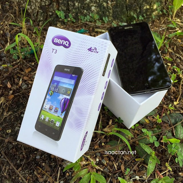 BenQ T3 Android Powered Smartphone Review