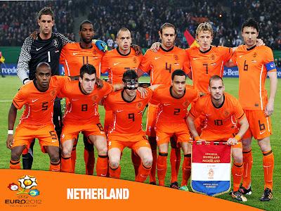 Netherland National Football Team Euro 2012 Cup HD Desktop Wallpaper
