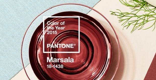 Marsala, cor, 2015, Pantone